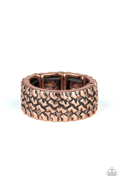 Paparazzi Ring PREORDER ~ All Wheel Drive - Copper