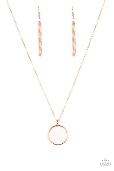 Paparazzi Necklace PREORDER ~ Shimmering Seashores - Copper