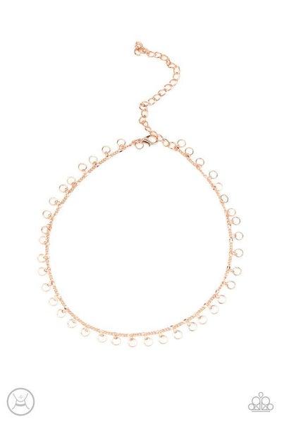 Paparazzi Necklace ~ Minimalist Magic - Copper