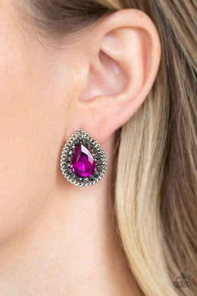 Paparazzi Earring ~ Debutante Debut - Pink