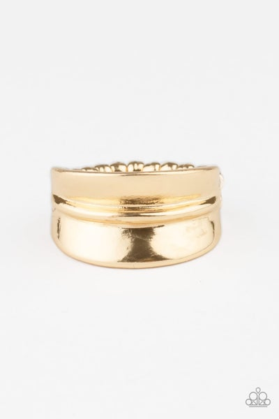 Paparazzi Ring ~ Band Together - Gold