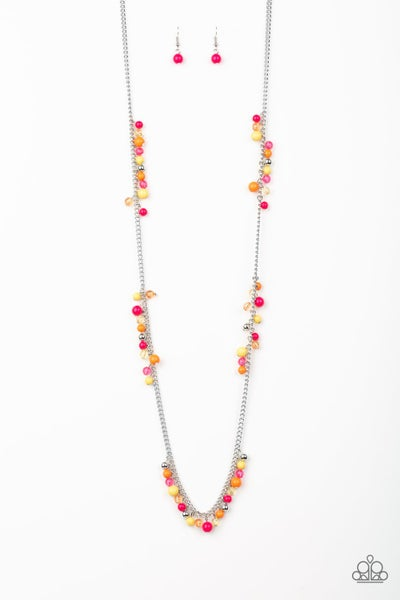 Paparazzi Necklace ~ Miami Mojito - Multi