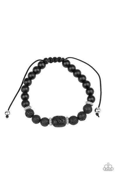Paparazzi Bracelet PREORDER ~ Discovery - Black
