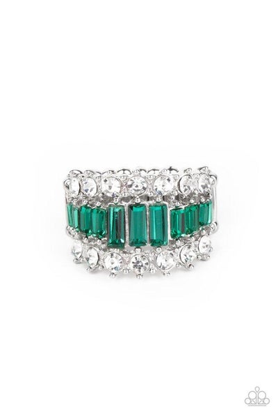 Paparazzi Ring PREORDER ~ CACHE Value - Green