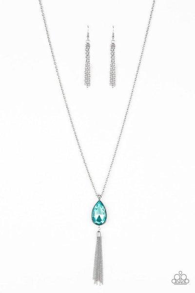 Paparazzi Necklace ~ Elite Shine - Blue