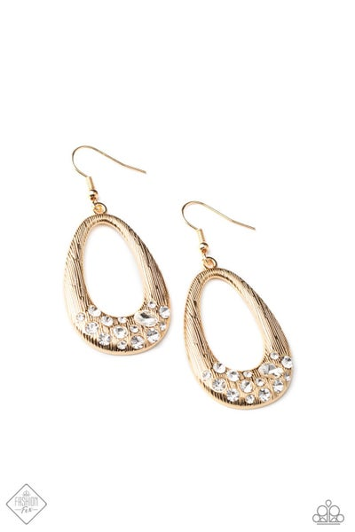 Paparazzi Earrings Fashion Fix Dec 2020 ~ Better LUXE Next Time - Gold