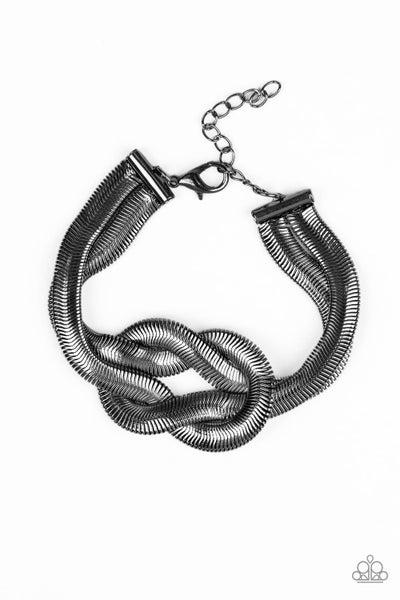 Paparazzi Bracelet ~ To The Max - Black