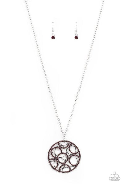 Paparazzi Necklace PREORDER ~ Thanks A MEDALLION - Purple