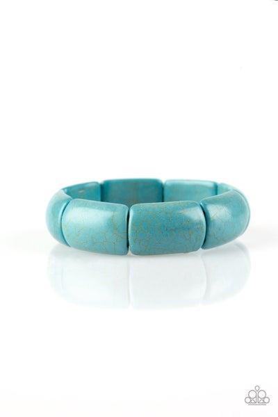 Paparazzi Bracelet ~ Peace Out - Blue