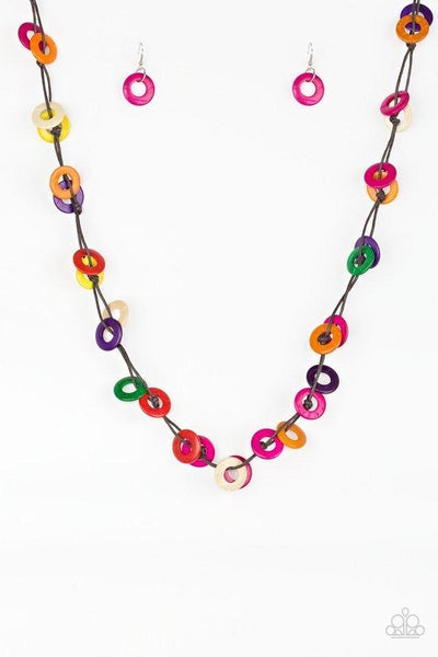 Paparazzi Necklace ~ Waikiki Winds - Multi