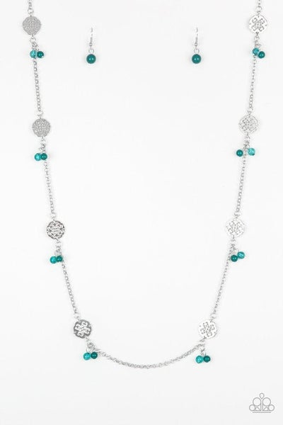 Paparazzi Necklace ~ Color Boost - Green