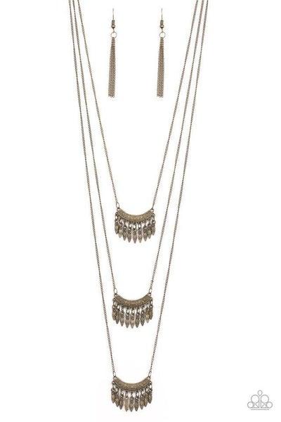Paparazzi Necklace PREORDER ~ Seasonal Charm - Brass