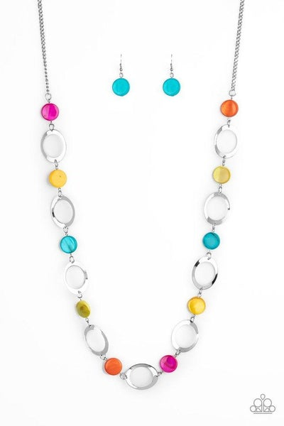 Paparazzi Necklace ~ SHELL Your Soul - Multi