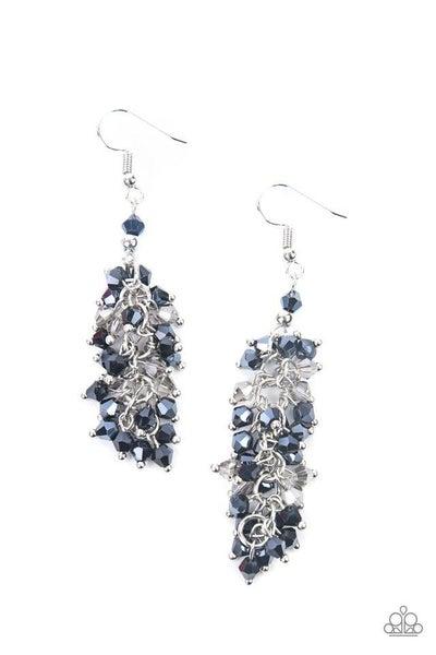 Paparazzi Earring PREORDER ~ Celestial Chandeliers - Blue