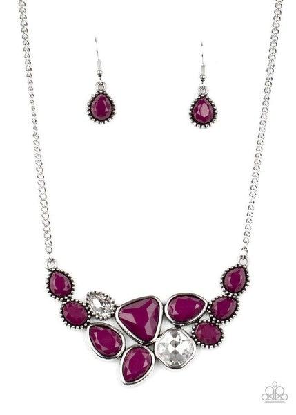 Paparazzi Necklace ~ Breathtaking Brilliance - Purple