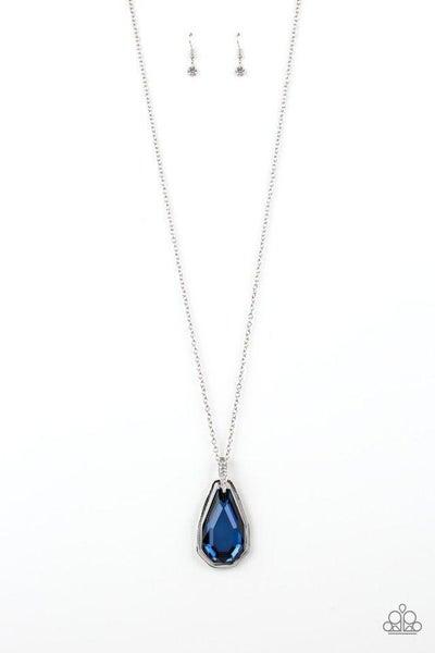 Paparazzi Necklace ~ Maven Magic - Blue