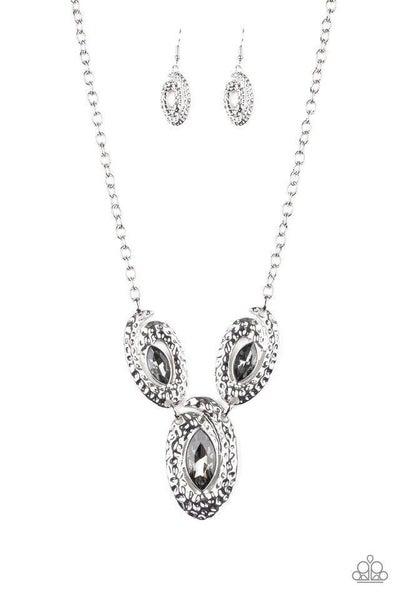 Paparazzi Necklace ~ Metro Mystique - Silver
