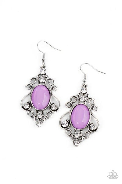 Paparazzi Earring PREORDER ~ Tour de Fairytale - Purple