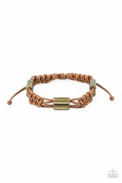 Paparazzi Bracelet ~ Always Adrift - Brown