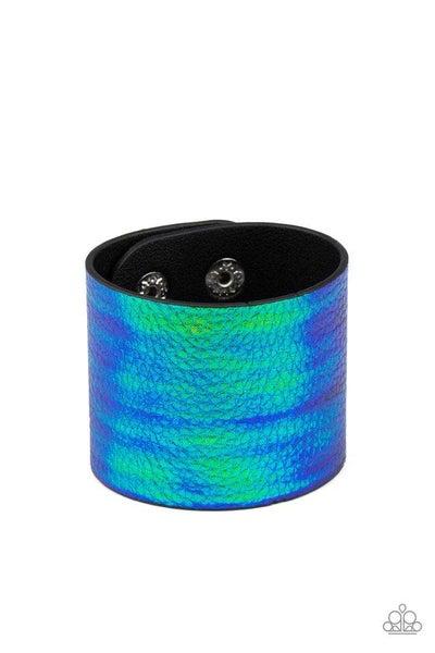 Paparazzi Bracelet ~ Cosmo Cruise - Blue