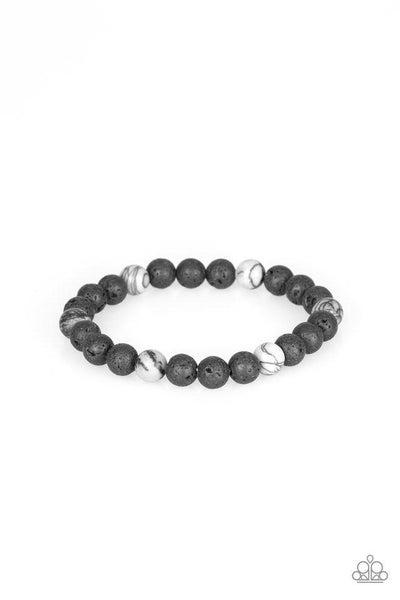 Paparazzi Bracelet ~ All Zen - White