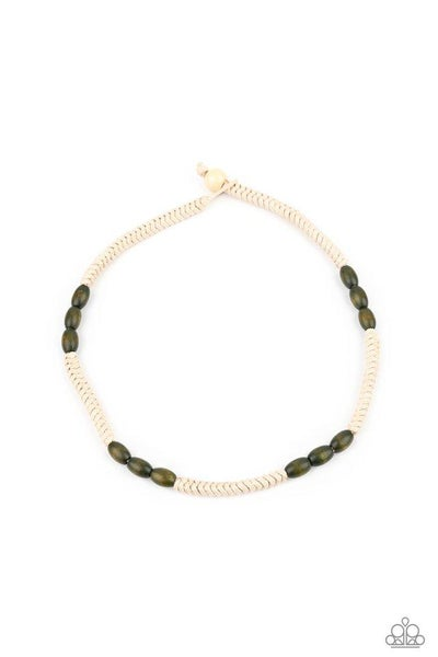 Paparazzi Necklace PREORDER ~ Tahiti Tide - Green