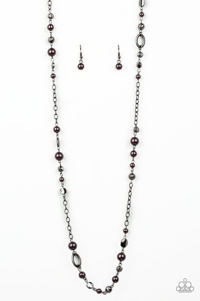 Paparazzi Necklace ~ Make An Appearance - Black