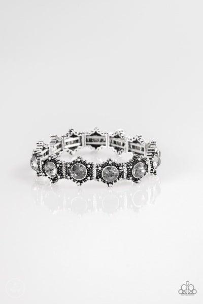 Paparazzi Bracelet ~ Strut Your Stuff - Silver