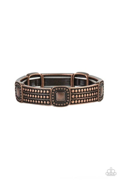 Paparazzi Bracelet PREORDER ~ Rustic Redux - Copper