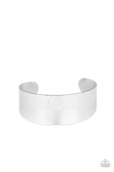 Paparazzi Bracelet ~ Mixed Vibes - Silver