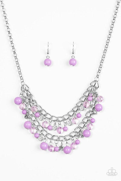 Paparazzi Necklace - Bridal Party - Purple