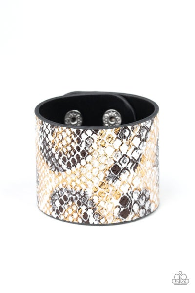 Paparazzi Bracelet ~ Serpent Shimmer - Multi