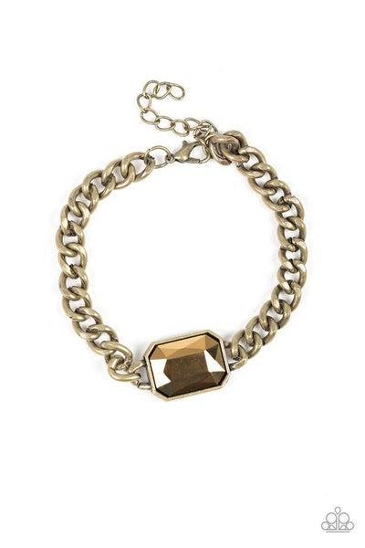 Paparazzi Bracelet ~ Command and CONQUEROR - Brass