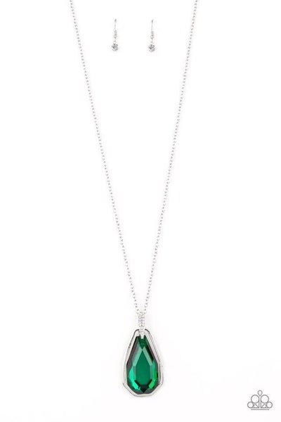 Paparazzi Necklace ~ Maven Magic - Green