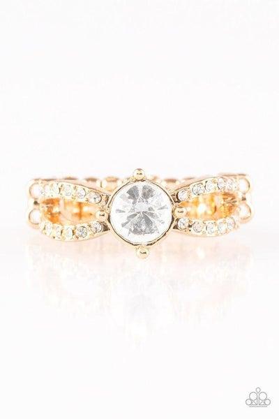 Paparazzi Ring ~ Ever Elegant - Gold