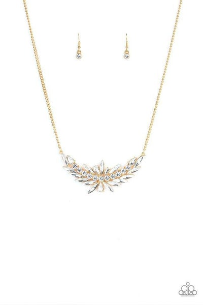 Paparazzi Necklace ~ HEIRS and Graces - Gold
