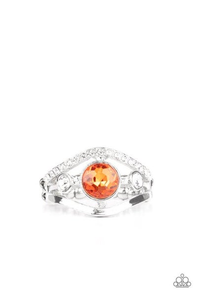 Paparazzi Ring PREORDER ~ Rich With Richness - Orange