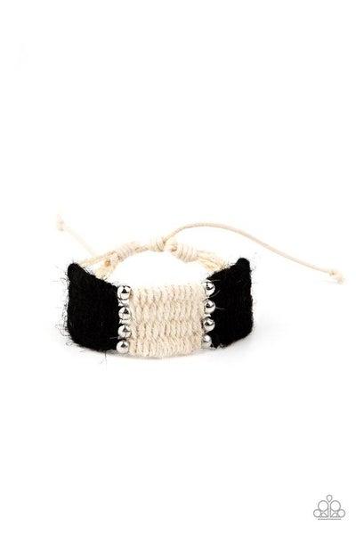 Paparazzi Bracelet ~ High Tides - Black