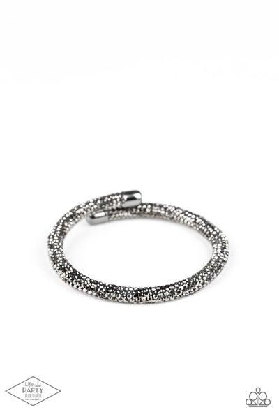 Paparazzi Bracelet ~ Stageworthy Sparkle - Black