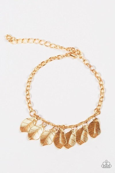 Paparazzi Bracelet - Bright Flight - Gold