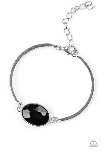 Paparazzi Bracelet ~ Definitely Dashing - Black