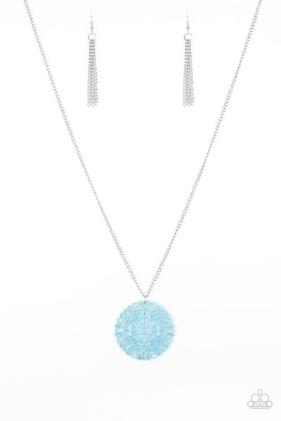 Paparazzi Necklace ~ Midsummer Musical - Blue