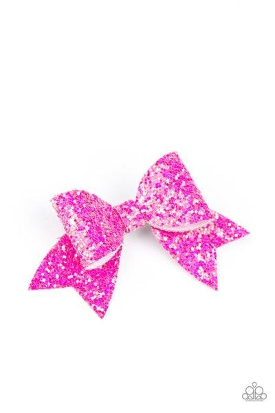 Paparazzi Hair Accessories ~ Confetti Princess - Pink