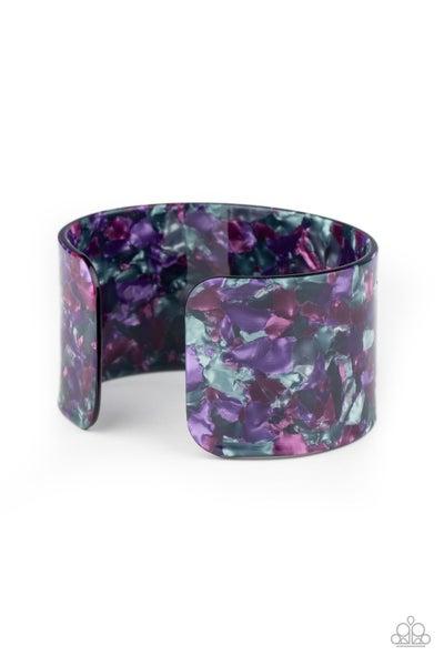 Paparazzi Bracelet ~ Freestyle Fashion - Purple