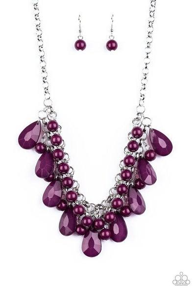 Paparazzi Necklace ~ Endless Effervescence - Purple
