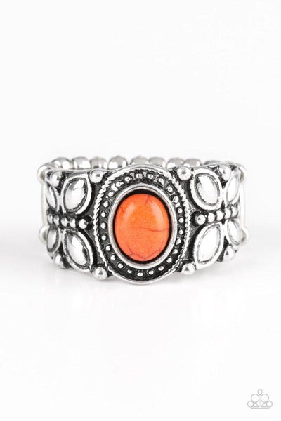 Paparazzi Ring ~ Butterfly Belle - Orange