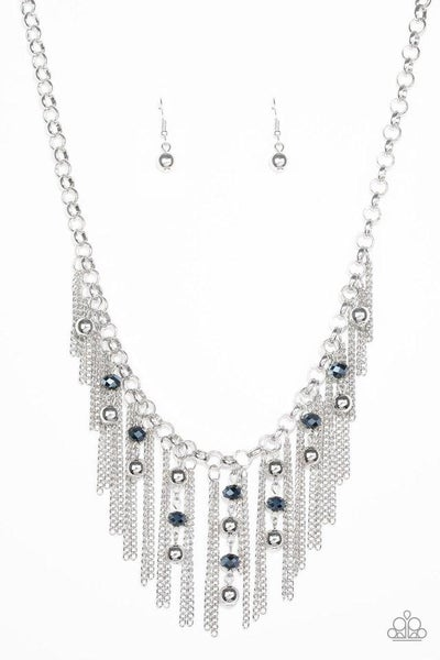 Paparazzi Necklace ~ Ever Rebellious - Blue