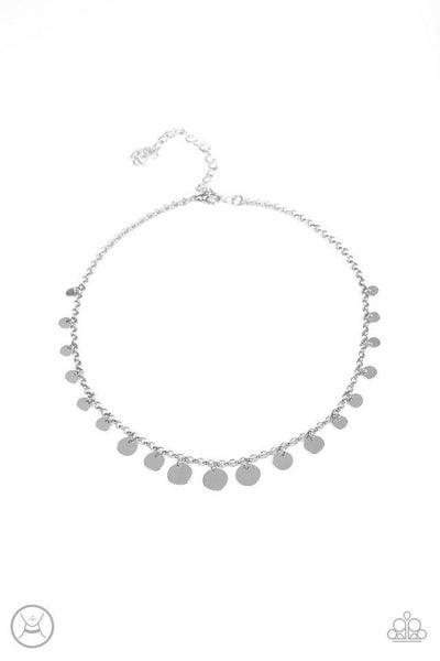 Paparazzi Necklace ~ Minimal Magic - Silver