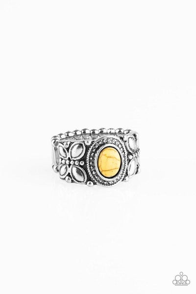 Paparazzi Ring ~ Butterfly Belle - Yellow