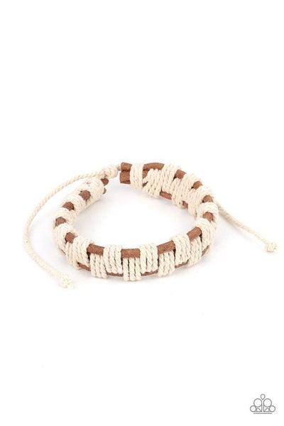Paparazzi Bracelet PREORDER ~ Rustic Terrain - Brown